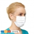 PrimeOne Face Mask w/earloops, Anti-fog foam & shield, white