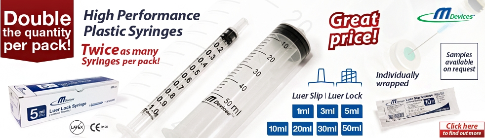 High performance Syringes - M-Devices