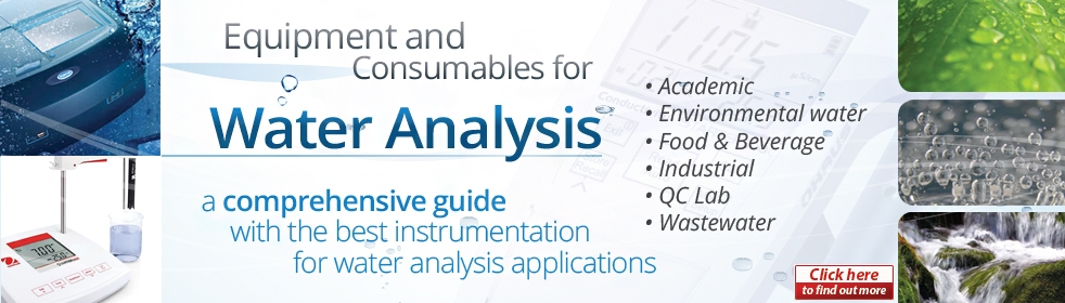 Water Analysis Catalogue